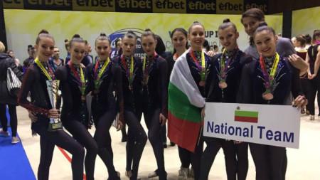 Национален отбор-девойки на България по естетическа групова гимнастика
