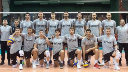 Национален отбор по волейбол (мъже)