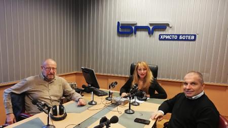 Кин Стоянов, Мария Мира Христова и Гроздан Караджов
