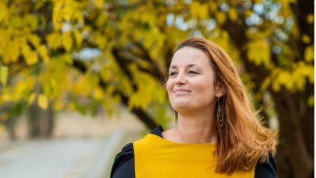 """Мария Георгиева - председател на настоятелството на Фондация """"Ендометриоза и репродуктивно здраве"""""""