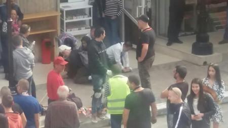 Обезвреждането на джебчийката във Велико Търново