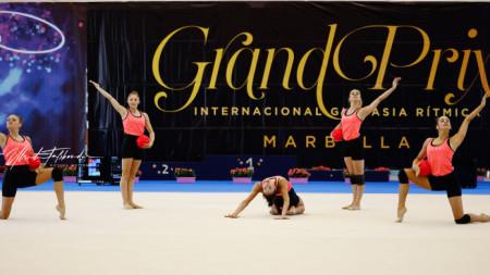 Bulgaristan Ritmik Jimnastik takımı