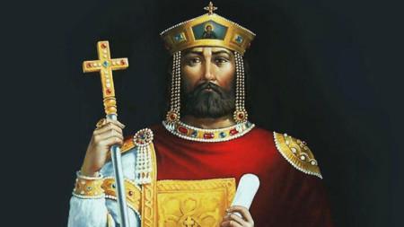 Fürst Boris I. Michael (Gemälde von Georgi Filew)