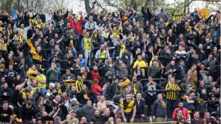Ботев (Пловдив) ще плати солена глоба заради поведението на феновете си.