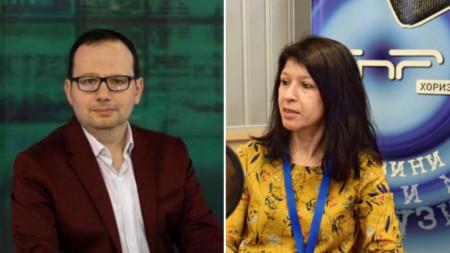 Николай Кръстев и Силвия Великова