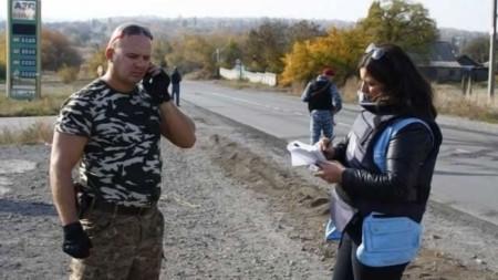 Мариана Кацарова в Украйна, на поредната мисия на ООН