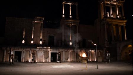 Едно от местата в Пловдив, където операта изнася своите концерти, е Античният театър