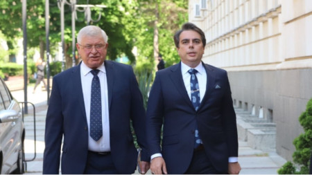 Kirill Ananiev (majtas) dhe Asen Vasilev