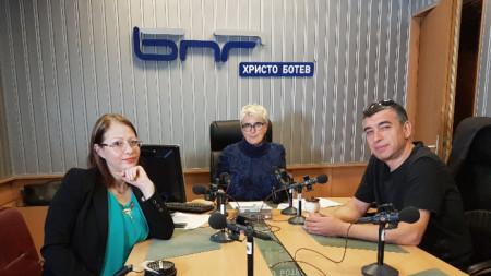 Соня Станчева, Веселина Даковска и Кирил Гунчев