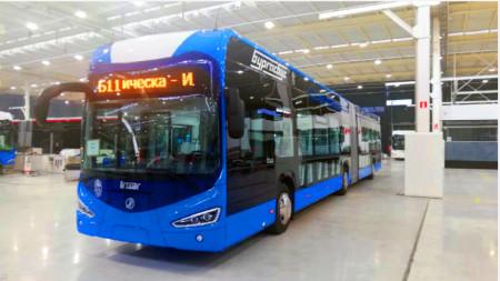 Така ще изглеждат новите електрически автобуси на Бургас