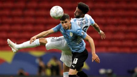 Аржентина победи Уругвай с 1:0