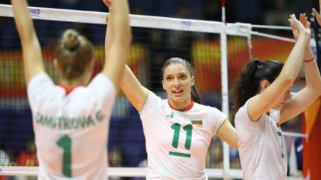 Христина Вучкова (№11)  ще играе в Пловдив.