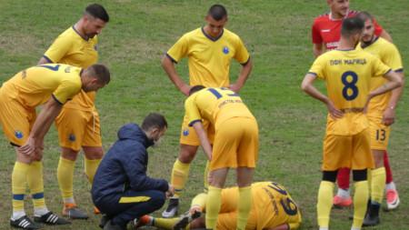 Кракът на Апостол Попов не е счупен