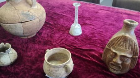 Археологически находки от района край Петропавловския манастир до Лясковец