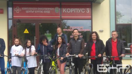 Благотворителният велотон се провежда за втори път