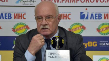 проф. Пенчо Гешев, ректор на НСА