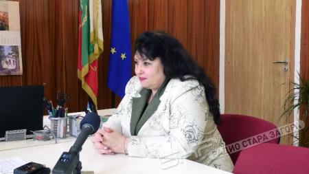 Снежана Танева - директор на Търговска гимназия Стара Загора