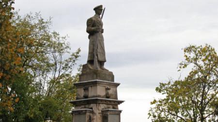 Войнишки паметник в Търговище