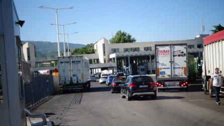 Grenzübergangpunkt Promachonas