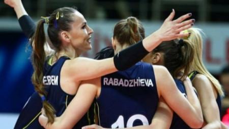 Рабаджиева резерва при успех за медал на Фенербахче