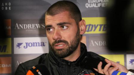 Георги Георгиев напусна Славия точно преди дербито с Левски.