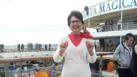 На лайнера Коста Маджика през октомври 2019