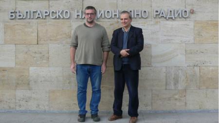 Димитър Събев (вляво) и Румен Дечев