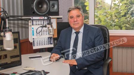 Доц. д-р Добри  Ярков, Ректор на Тракийски университет, Стара Загора