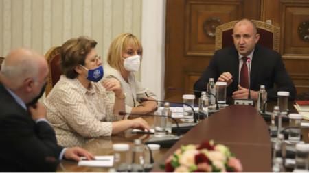 Zweite Konsultationsrunde beim Präsidenten
