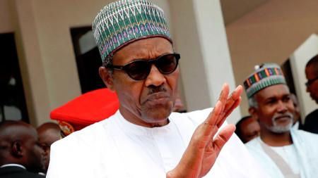 Президентът на Нигерия Мухамаду Бухари.