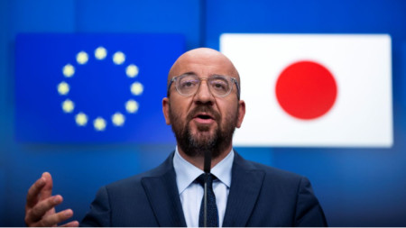 Изказване на Шарл Мишел, председател на Европейския съвет, след лидерска водеосреща ЕС-Япония