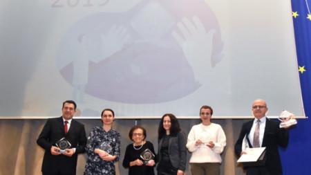 Носителите на наградите на Българската педиатрична асоциация