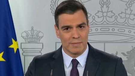 Испанският премиер Педро Санчес.