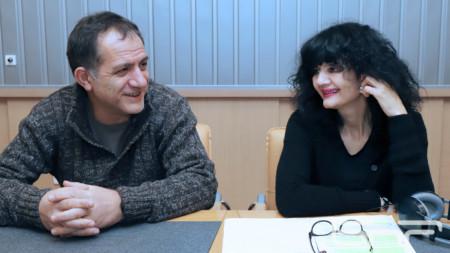 Васил Абаджиев и Лилия Абаджиева