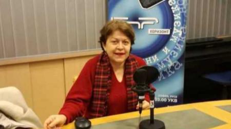 """Татяна Дончева в студиото на """"Неделя 150"""""""