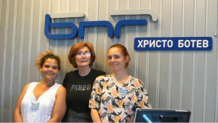Росица Милкова, Цвета Николова и Искра Стойкова (отляво надясно)