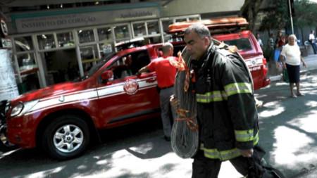 Бразилски пожарникар (архив)