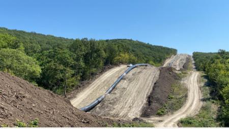 Строежът на газопровода