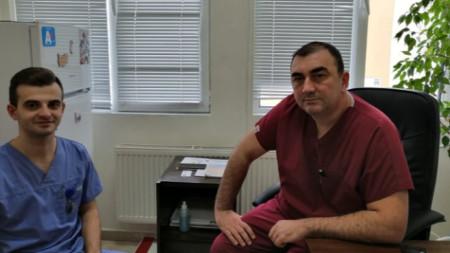 Д-р Мартин Караманлиев и проф. д-р Добромир Димитров
