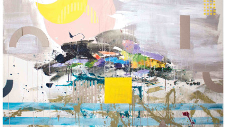 Картина от изложбата на Лиана Димитрова