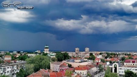 Буря към гр.Видин