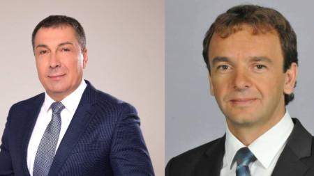 Николай Димитров (вляво) и Атанас Терзиев