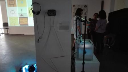 Изложба на студенти от Националната художествена академия