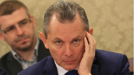 Le président de l'AESN Dimitar Gueorguiev