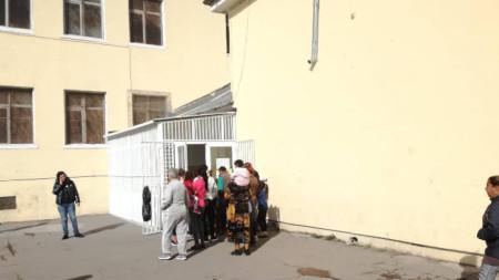 Гласуващи в квартал