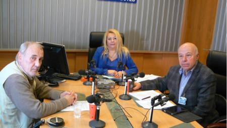 Георги Апостолов, Анелия Торошанова и Захари Генов