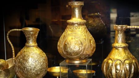 Съкровището на хан Кубрат от Малая Перешчепина