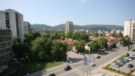 Изглед към град Перник