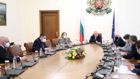 Съвещанието при премиера Бойко Борисов