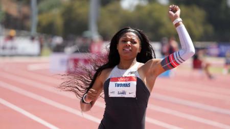 Габи Томас ще бяга и на олимпийските игри.